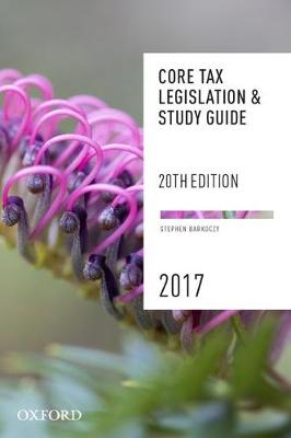 Core Tax Legislation and Study Guide (Paperback)
