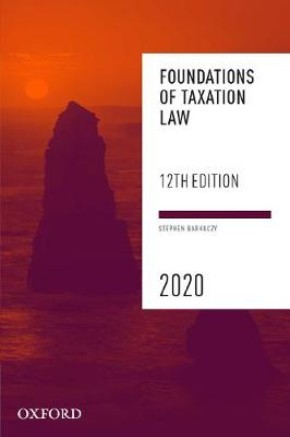 Foundations of Taxation Law 2020 (Paperback)