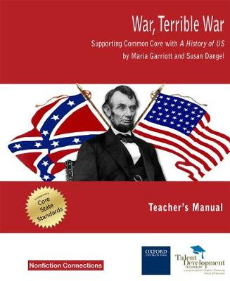 War, Terrible War: Supporting Common Core with A History of US Teacher's Manua (Paperback)