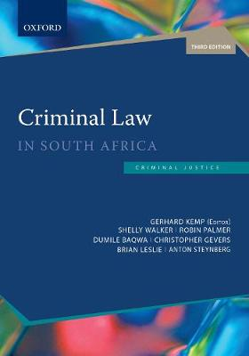 Criminal Law in South Africa (Paperback)
