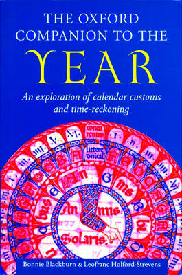 The Oxford Companion to the Year - Oxford Companions (Hardback)