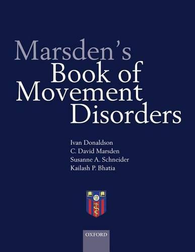 Marsden's Book of Movement Disorders (Hardback)