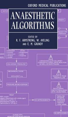 Anaesthetic Algorithms (Paperback)