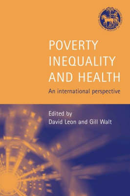 Poverty, Inequality and Health: An International Perspective (Paperback)