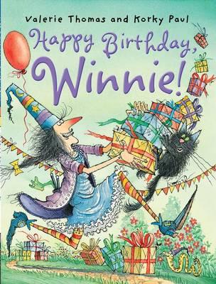 Happy Birthday Winnie (Paperback)