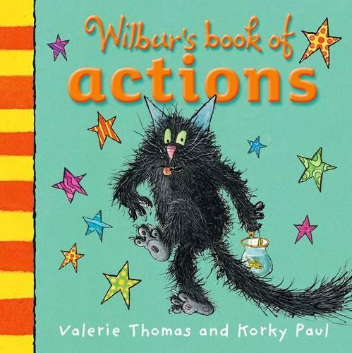 Wilbur's Book of Actions (Board book)
