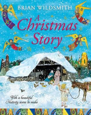 A Christmas Story with Nativity Set (Hardback)
