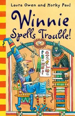 Winnie Spells Trouble! (Paperback)