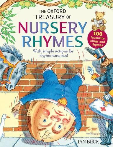 The Oxford Treasury of Nursery Rhymes (Paperback)