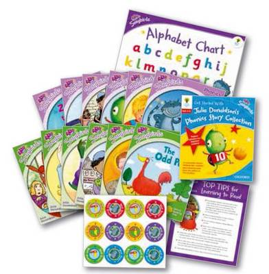 Oxford Reading Tree Songbirds: Levels 1+ and 2: Get Started With Julia Donaldson's Phonics Story Collection - Oxford Reading Tree Songbirds