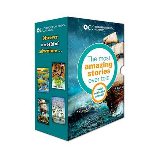 Oxford Children's Classics: World of Adventure box set - Oxford Children's Classics (Paperback)