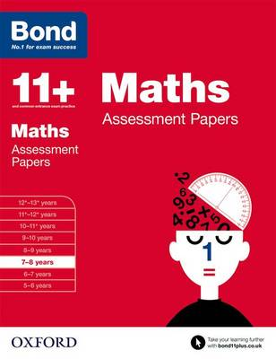 Bond 11+: Maths: Assessment Papers: 7-8 years - Bond 11+ (Paperback)