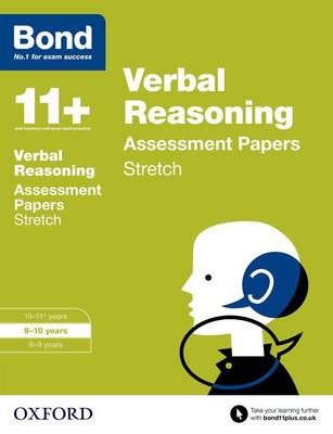 Bond 11+: Verbal Reasoning: Stretch Papers: 9-10 years - Bond 11+ (Paperback)