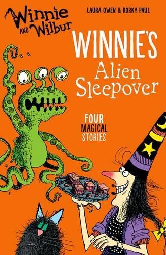 Winnie and Wilbur: Winnie's Alien Sleepover (Paperback)