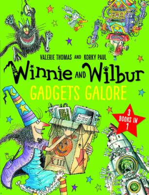 Winnie and Wilbur: Gadgets Galore and other stories: 3 books in 1 (Paperback)