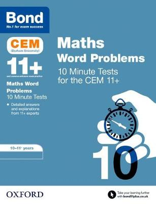 Bond 11+: CEM Maths Word Problems 10 Minute Tests