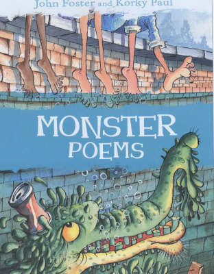 Monster Poems (Paperback)