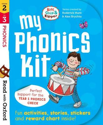Read with Oxford: Stages 2-3: Biff, Chip and Kipper: My Phonics Kit - Read with Oxford