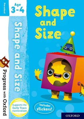 Progress with Oxford: Shape and Size Age 3-4 - Progress with Oxford