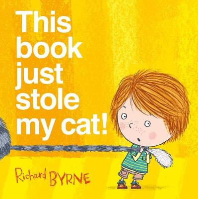 This Book Just Stole My Cat! (Hardback)