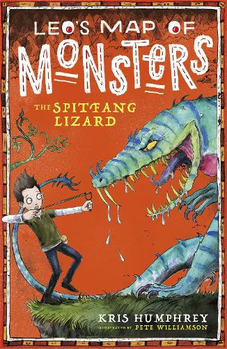 Leo's Map of Monsters: The Spitfang Lizard (Paperback)