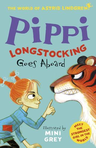 Pippi Longstocking Goes Aboard (World of Astrid Lindgren) (Paperback)