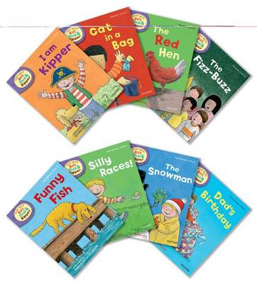 Oxford Reading Tree Read With Biff, Chip, and Kipper: Level 2: Pack of 8 - Oxford Reading Tree Read With Biff, Chip, and Kipper