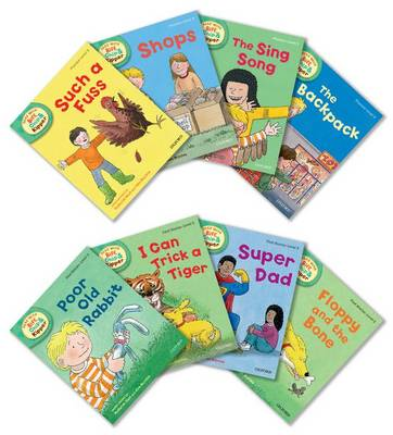 Oxford Reading Tree Read With Biff, Chip, and Kipper: Level 3: Pack of 8 - Oxford Reading Tree Read With Biff, Chip, and Kipper