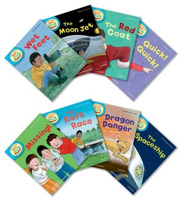 Oxford Reading Tree Read With Biff, Chip, and Kipper: Level 4: Pack of 8 - Oxford Reading Tree Read With Biff, Chip, and Kipper