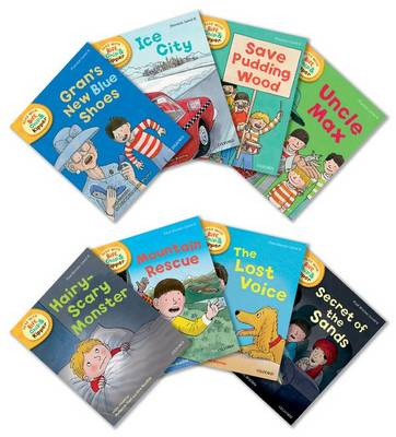 Oxford Reading Tree Read With Biff, Chip, and Kipper: Level 6: Pack of 8 - Oxford Reading Tree Read With Biff, Chip, and Kipper