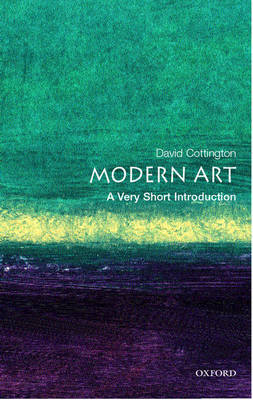 Modern Art: A Very Short Introduction - Very Short Introductions (Paperback)