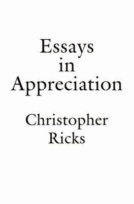 Essays in Appreciation (Paperback)