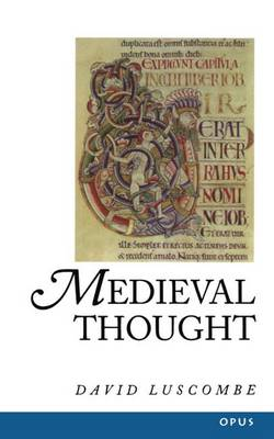 Medieval Thought - A History of Western Philosophy 2 (Paperback)