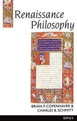 Renaissance Philosophy - A History of Western Philosophy 3 (Paperback)