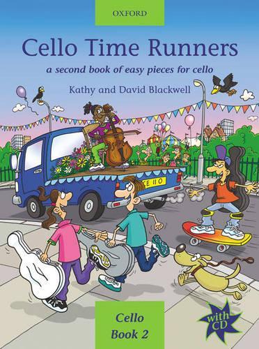 Cello Time Runners + CD: A second book of easy pieces for cello - Cello Time (Sheet music)
