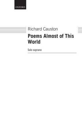 Poems Almost of This World (Sheet music)