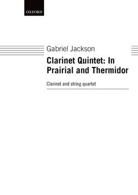 Clarinet Quintet: In Prairial and Thermidor (Sheet music)