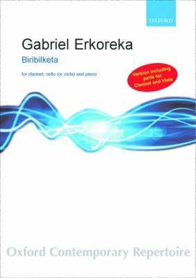 Biribilketa: Version for piano, clarinet, and viola (Sheet music)