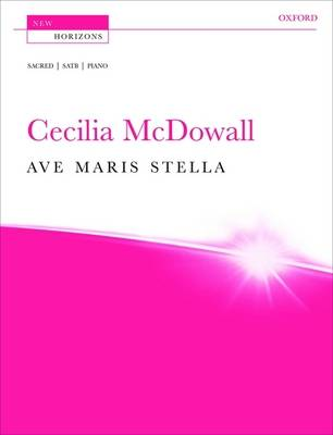 Ave maris stella: Vocal score - New Horizons (Sheet music)
