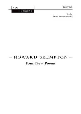 Four New Poems: Vocal score (Sheet music)
