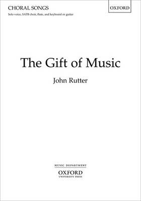 The Gift of Music (Sheet music)