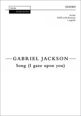 Song (I gaze upon you) - New Horizons (Sheet music)