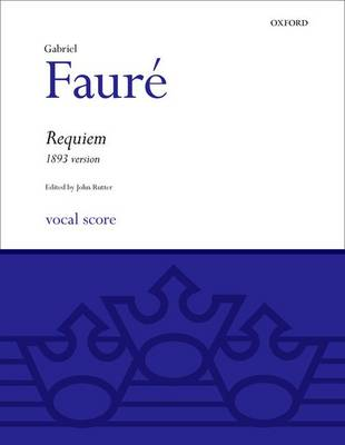 Requiem (1893 version): Vocal score - Classic Choral Works (Sheet music)