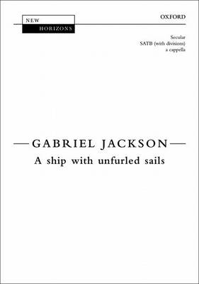 A ship with unfurled sails - New Horizons (Sheet music)