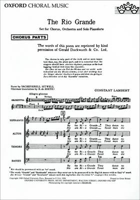 The Rio Grande (Sheet music)
