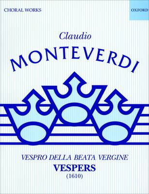 Vespers (1610): Performing score - Classic Choral Works (Sheet music)