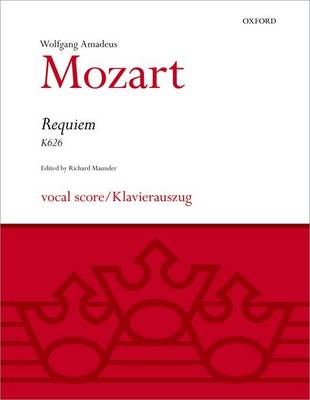 Requiem: Vocal score - Classic Choral Works (Sheet music)