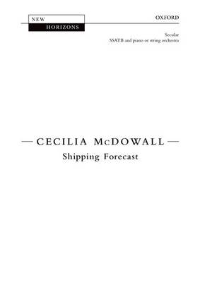 The The Shipping Forecast: Shipping Forecast Vocal Score (Sheet music)