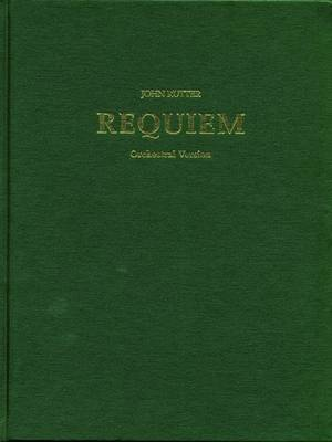 Requiem: Full score (orchestra) (Sheet music)