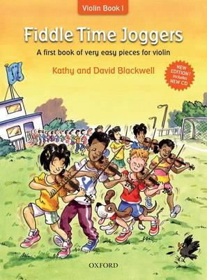 Fiddle Time Joggers + CD: A first book of very easy pieces for violin - Fiddle Time (Sheet music)